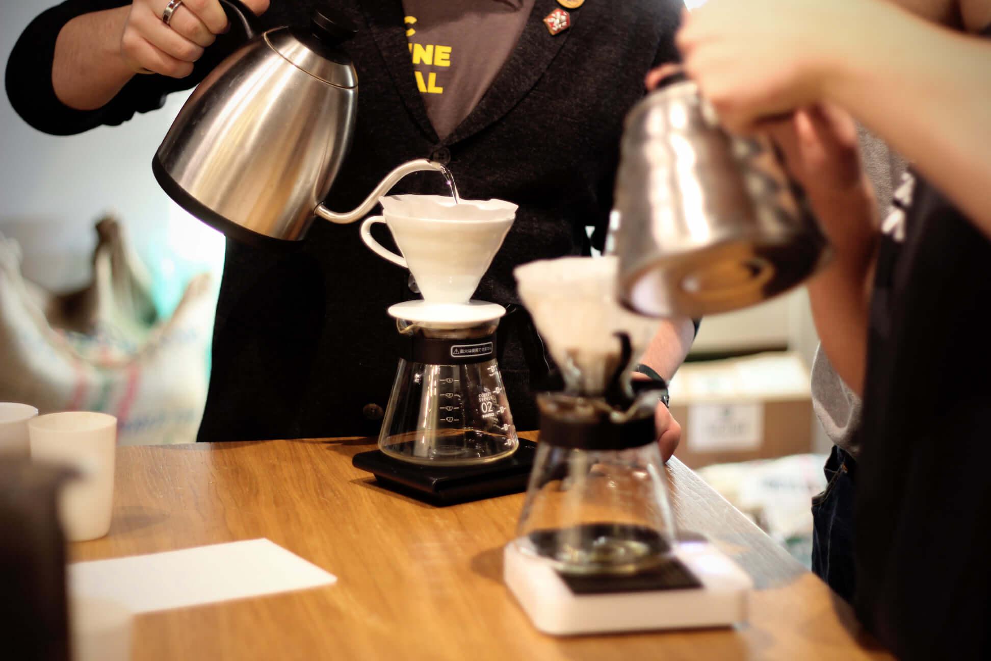 Szkolenia kawowe Alternatywne metody parzenia Szczecin