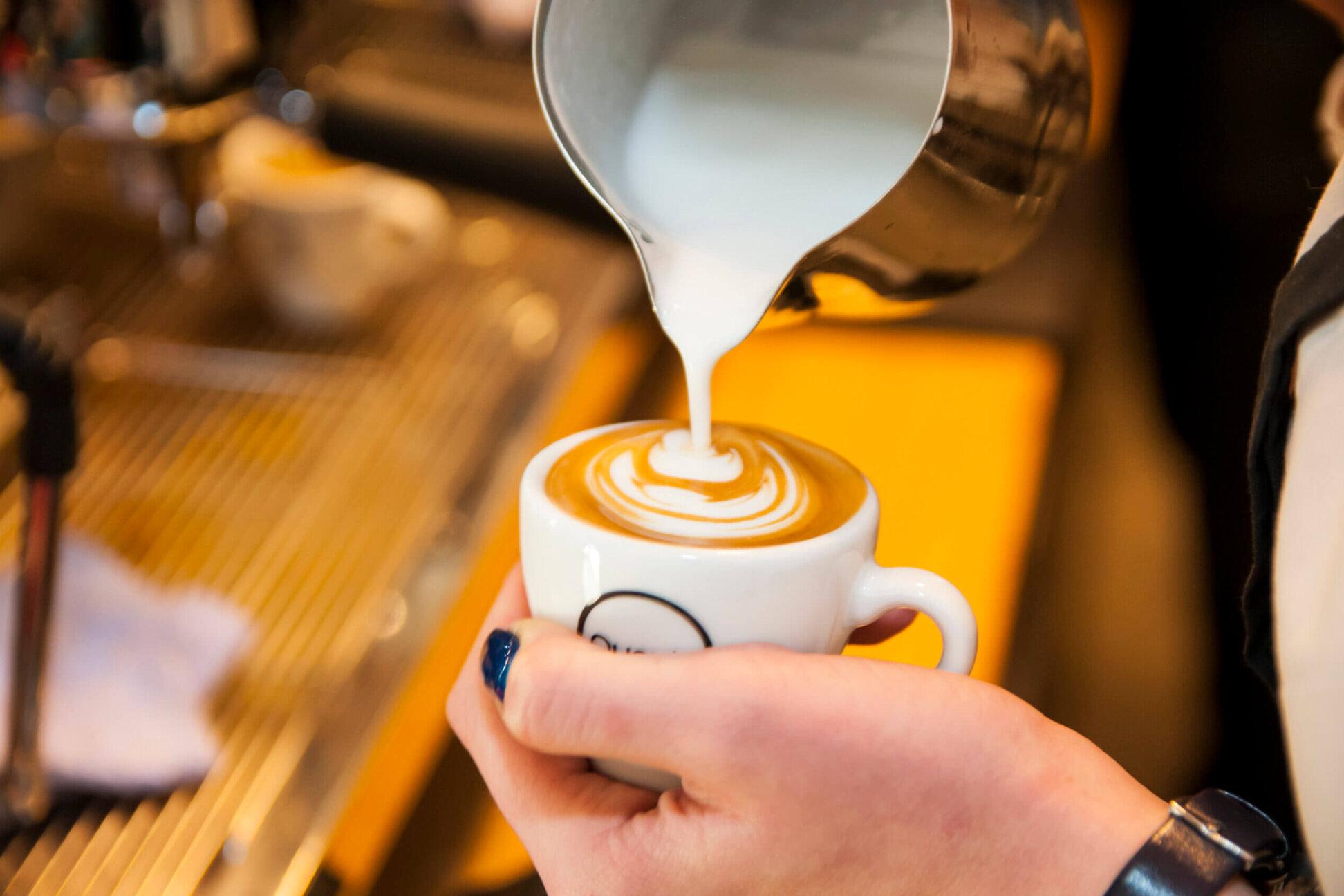 Szkolenia kawowe Latte art Poziom podstawowy Szczecin