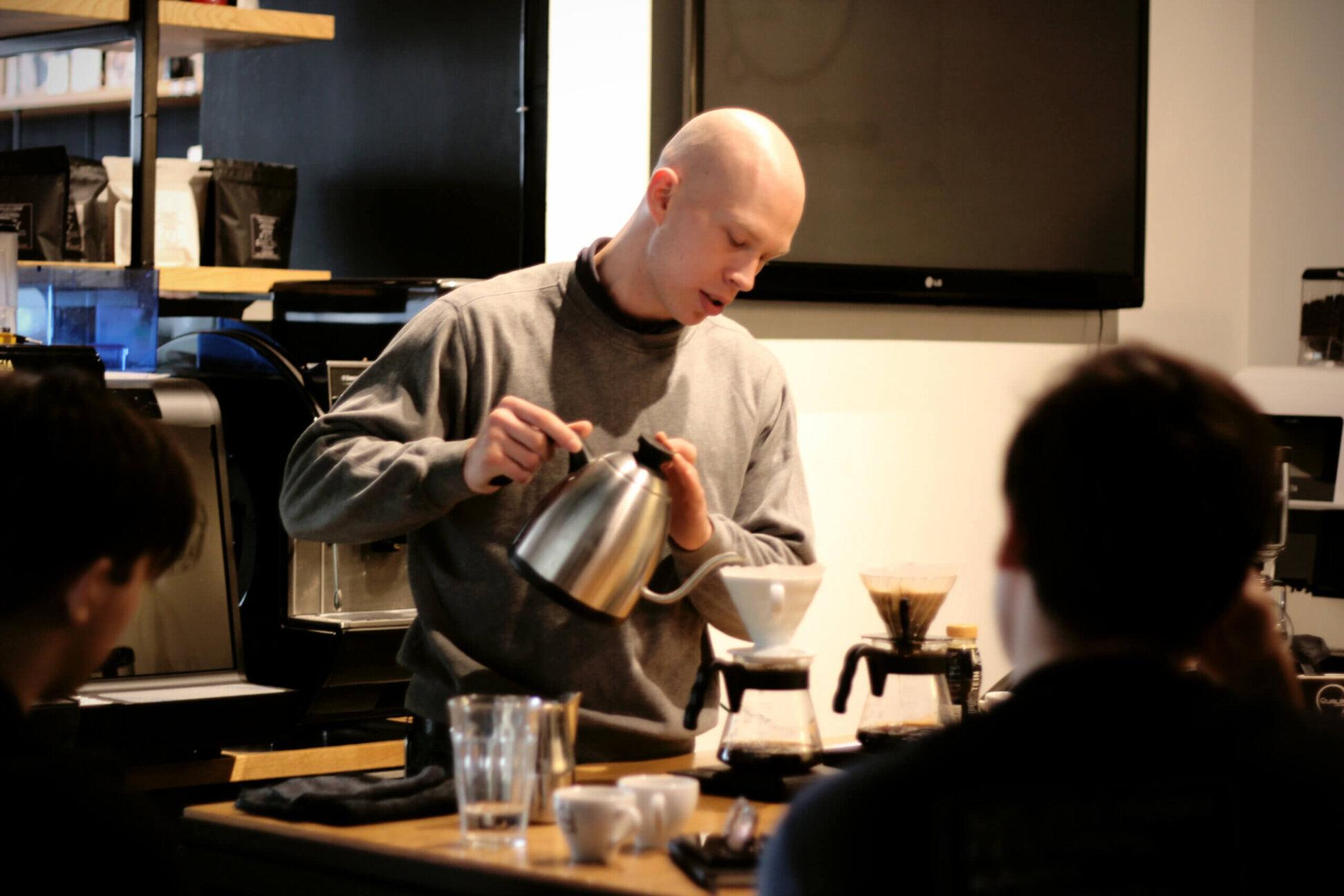 Szkolenia kawowe Qualia Caffe Szczecin