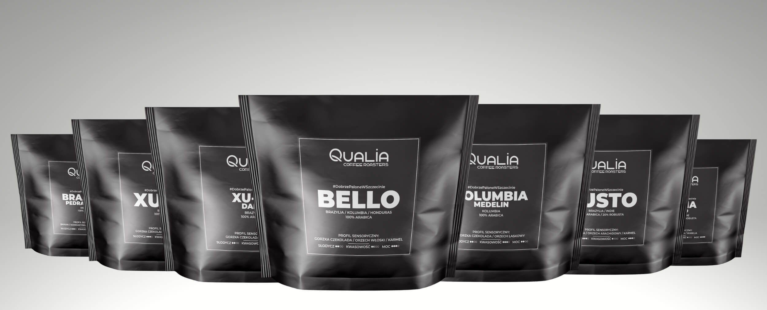 Kawy świeżo palone Qualia Premium