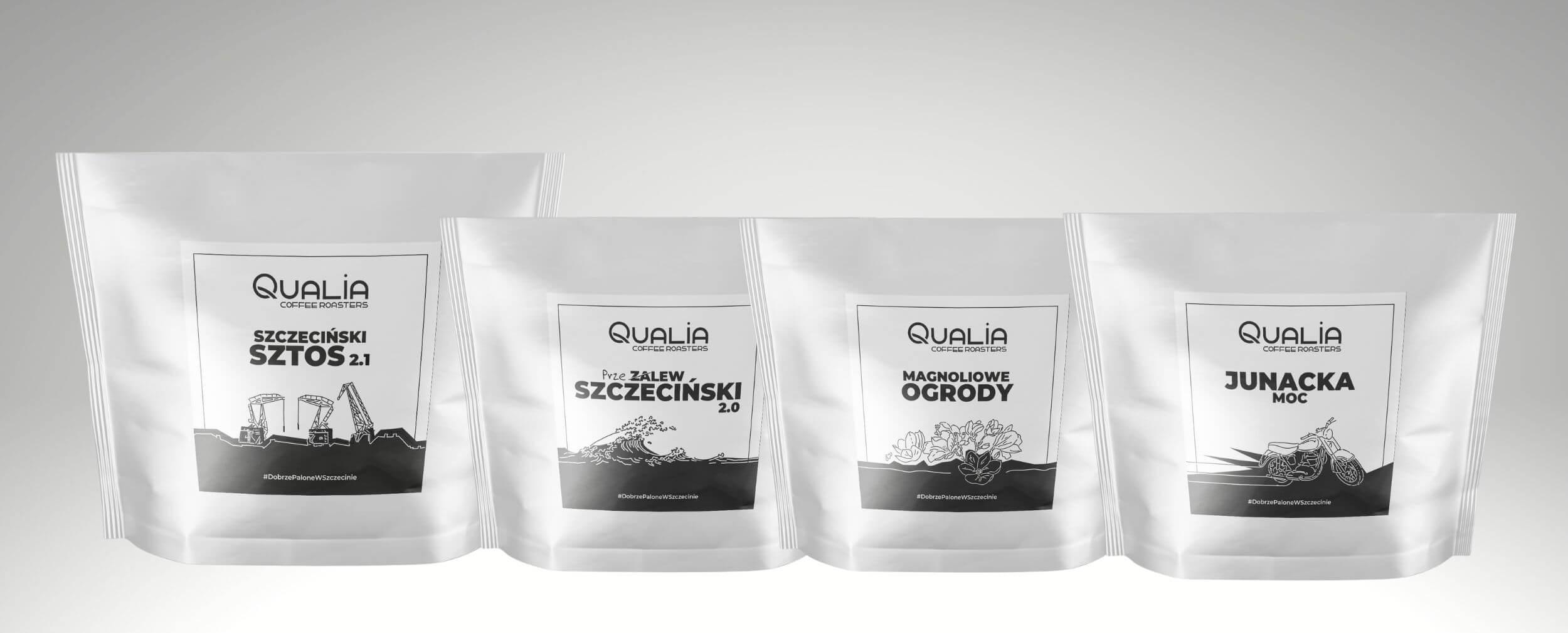 Kawy świeżo palone Qualia Szczeciński Klimat