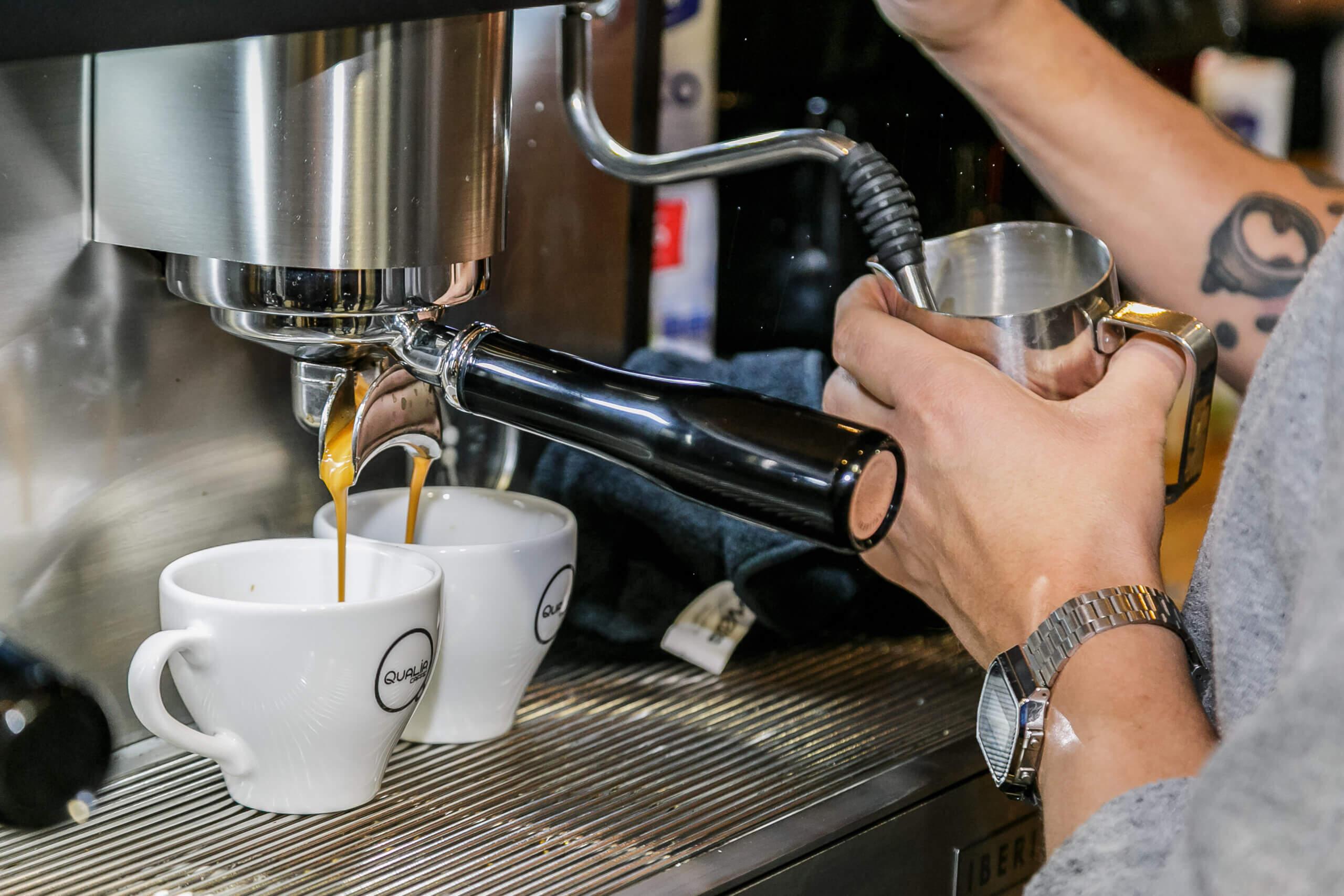 Szkolenia kawowe dla baristów - Palarnia kawy Qualia Caffe