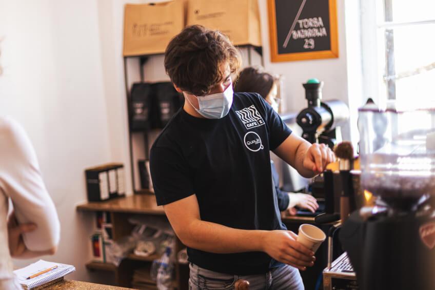 Kawa Qualia na Szczecińskiem Bazarze Smakoszy